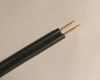 Cable twin lead
