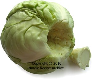 how to cut cone cabbage