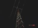 SWR old mast in the night